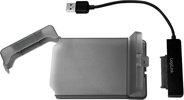 LogiLink - USB 3.0 to 2.5'' S-ATA With Protective Case