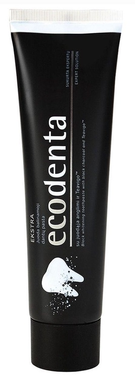 Dantų pasta Ecodenta Black Whitening 100ml