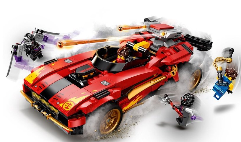 Конструктор LEGO Ninjago 71737, 599 шт.