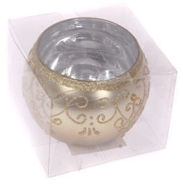 Verners Candle Holder 8x10cm Gold