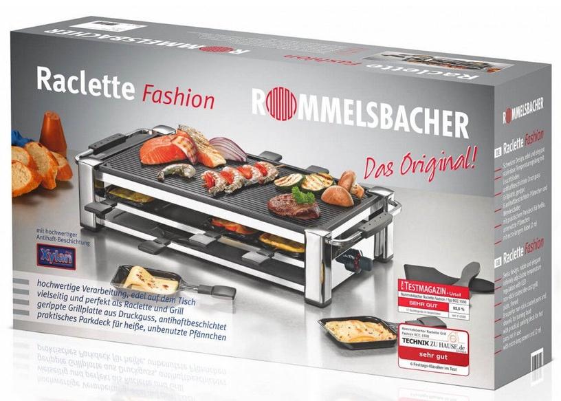 Elektriskais grils Rommelsbacher Raclette RCC 1500
