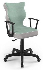 Детский стул Entelo Norm CR05, черный, 375 мм x 1010 мм