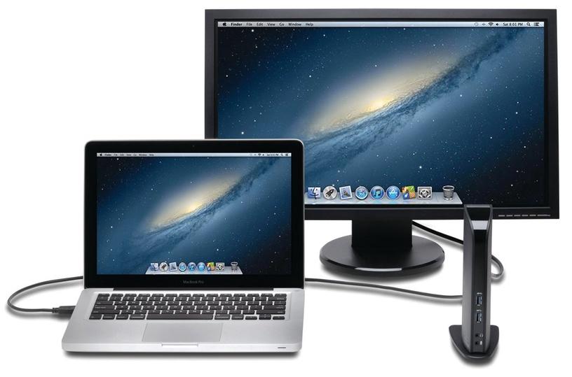 Kensington USB 3.0 Docking Station w/ Dual Uni Dock SD3500V