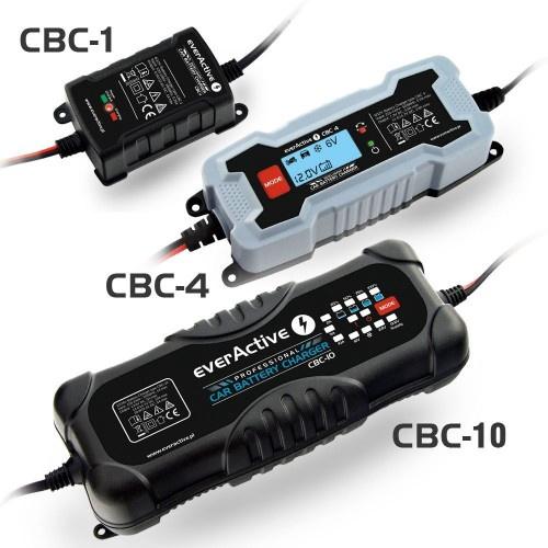 Lādētājs Everactive CBC-10, 12 - 24 V, 5 A