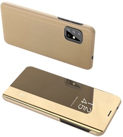 Hurtel Clear View Case For Samsung Galaxy S20 Plus Gold