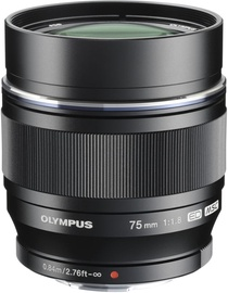 Olympus 75mm F1.8 M.Zuiko Digital ED Black