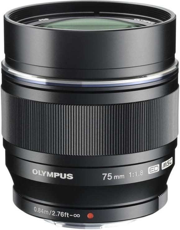 Olympus 75mm F1.8 M.Zuiko Digital ED Black