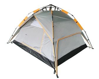 Trīsvietīga telts O.E.Camp RD-AT03-3 RD-AT03-3, oranža/pelēka