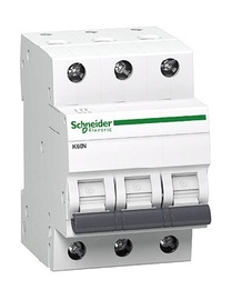 Automatinis jungiklis Schneider K60N, 3P, C, 20A, 6kA