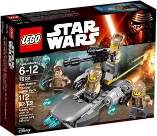 Конструктор LEGO Star Wars Resistance Trooper Battle Pack 75131, 112 шт.