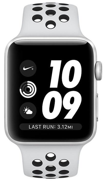Apple Watch Series 3 42mm GPS NIKE+ Platinum/Black