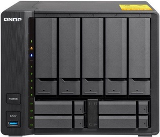 QNAP Systems TS-932X-8G 9-Bay NAS + QSW-1208-8C 10GbE Unmanaged Switch