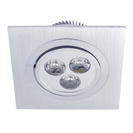 Iebūvējams gaismeklis Vagner SDH T0024 LED, 230V, 3X1W