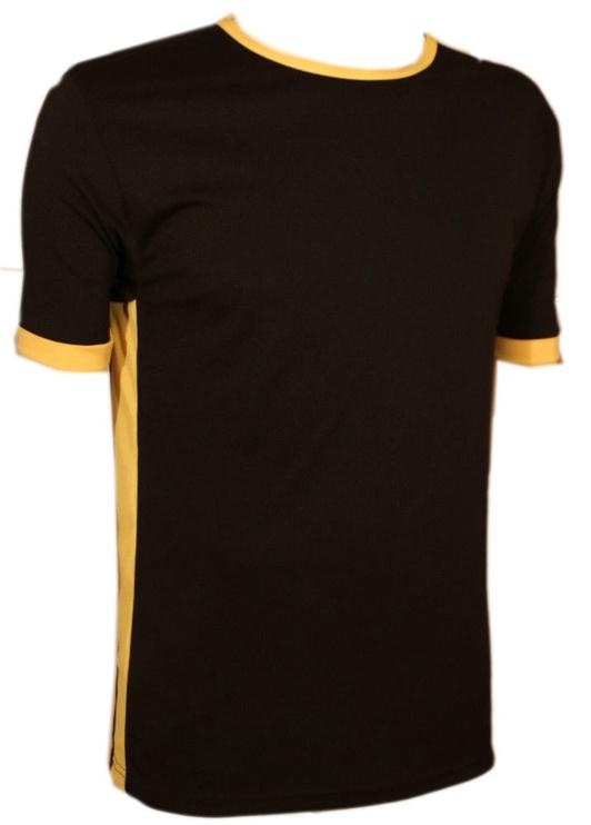 Bars Mens T-Shirt Black/Yellow 168 L