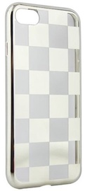 Mocco ElectroPlate Chess Back Case For Samsung Galaxy A5 A520 Silver