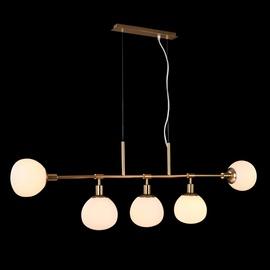 Pakabinamas šviestuvas Maytoni Erich MOD221-PL-05G, 5X40W, E14