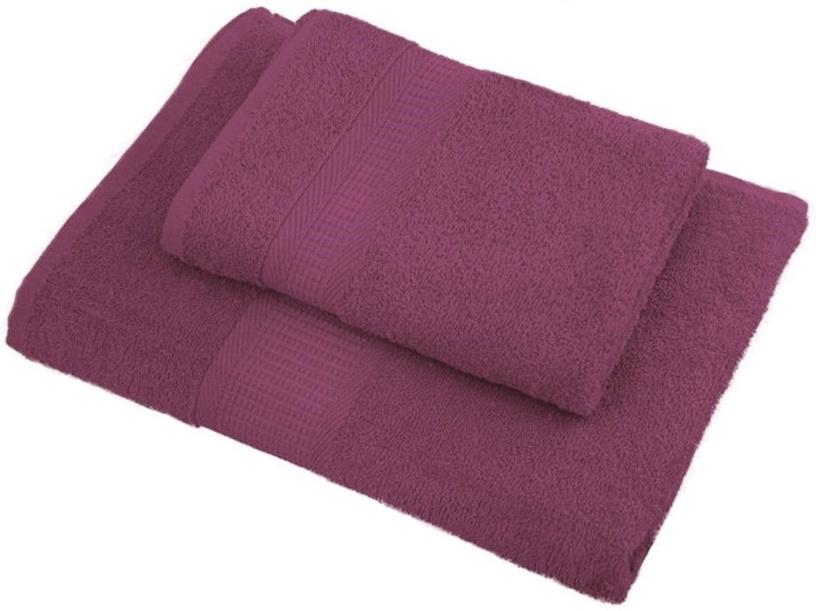 Bradley Towel 50x70cm Pastel Bordeaux