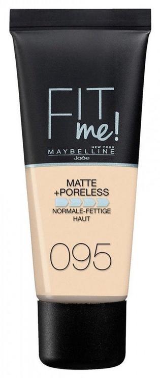 Tonālais krēms Maybelline Fit Me Matte + Poreless 95 Fair Porcelain, 30 ml