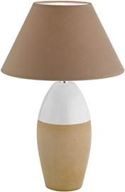 Fischer & Honsel Bedford 56180 Table Lamp 30W E14 White/Brown