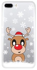 TakeMe Special Design Back Case For Samsung Galaxy J6 Plus J610 Snow Deer