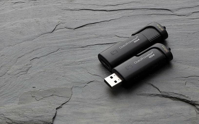 USB atmintinė Kingston DT104, USB 2.0, 64 GB