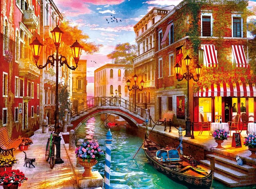 Puzle Clementoni Saulriets Venēcijā 35063, 500 gab.