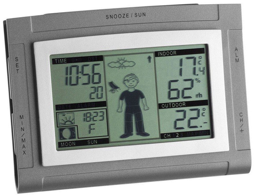 TFA 35.1064.10.50.IT Weather Boy Digital Wireless Station With Outdoor Sensor