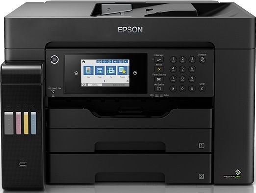 Многофункциональный принтер Epson EcoTank L15160, струйный, цветной