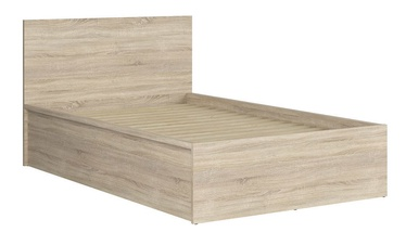 Black Red White Tetrix Bed A 120x200cm Sonoma Oak