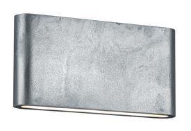 Trio Thames II cinka sienas gaisma 17 cm gara, IP54, 2x 4,5W, 2x 400lm, 3000K