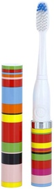 Violife Slim Sonic Classic Electric Toothbrush Candy Stripe