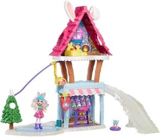Žaislinis lėlių namas Mattel Enchantimals Hoppin Ski Chalet GJX50