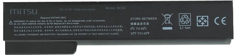 Sülearvutiaku Mitsu Battery For HP EliteBook 8460p/8460w 4400mAh