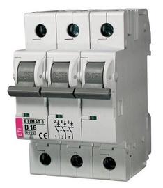 Automatinis jungiklis Eti MAT6, 3P, C, 25A, 6kA