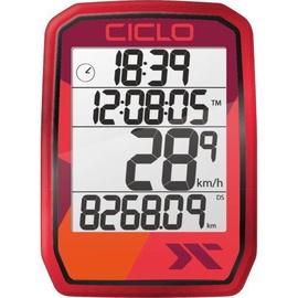 CicloSport Protos 205 Wireless Bike Computer Red