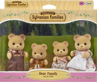 Žaislinė figūrėlė Epoch Sylvanian Families Bear Family 3150