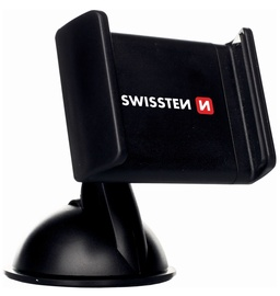 Swissten Premium S-GRIP B1 Window Holder Black