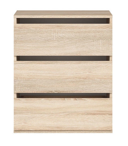 Black Red White Nadir Drawers For Wardrobe San Remo Oak