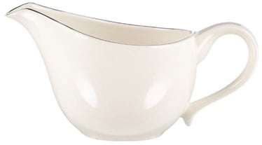 Quality Ceramics Sense Gravy Boat 230ml White