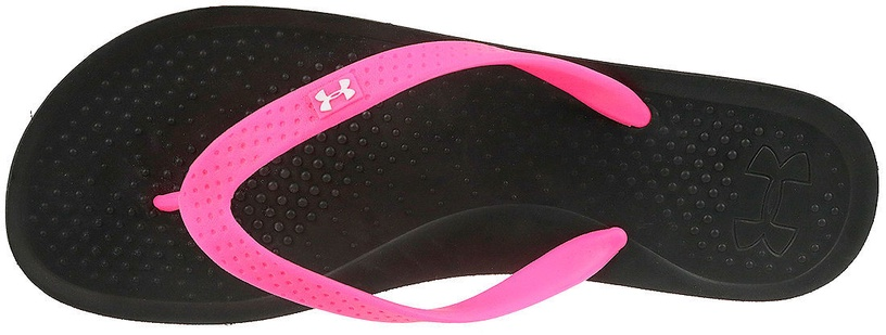 Under Armour Slippers Atlantic Dune 1252540-006 Black/Pink 40.5