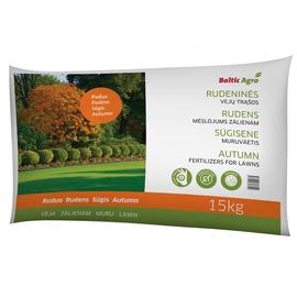 Trąšos rudeninės vejoms Baltic Agro, 15 kg