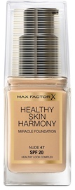 Max Factor Healthy Skin Harmony Miracle Foundation SPF20 30ml 47
