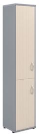 Skyland Imago Office Cabinet SU-1.3 Left Maple/Metallic