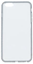 Beeyo Diamond Frame Back Case For Samsung Galaxy A5 A510 Transparent/Gray