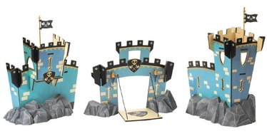 Djeco Arty Toys Knights Castle On Rock Set