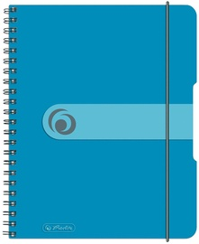 Herlitz Spiral Pad To Go A5 Transparent Blue 11293800