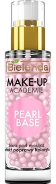Makiažo pagrindas Bielenda Make-Up Academie Pearl Base Rose, 30 g