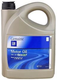 Машинное масло GM Dexos1 5W - 30, синтетический, для легкового автомобиля, 5 л