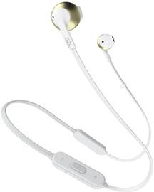 Ausinės JBL Tune T205BT Bluetooth In-Ear Earphones Gold