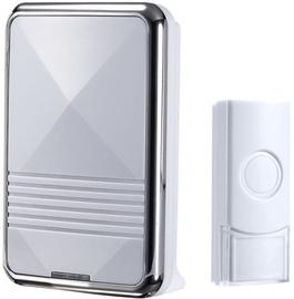 HausHalt QH-823A Bell White/Chrome